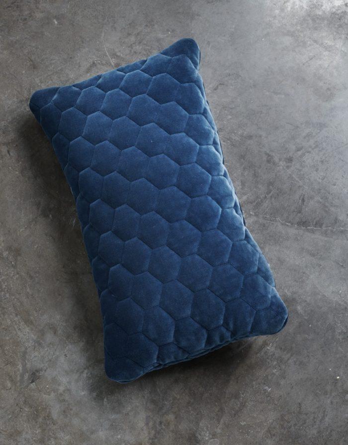DIAMOND pillows velvet blue moon