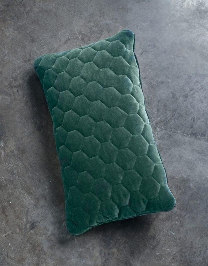 DIAMOND pillows velvet evergreen