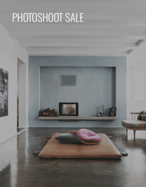 PHOTOSHOOT SALE